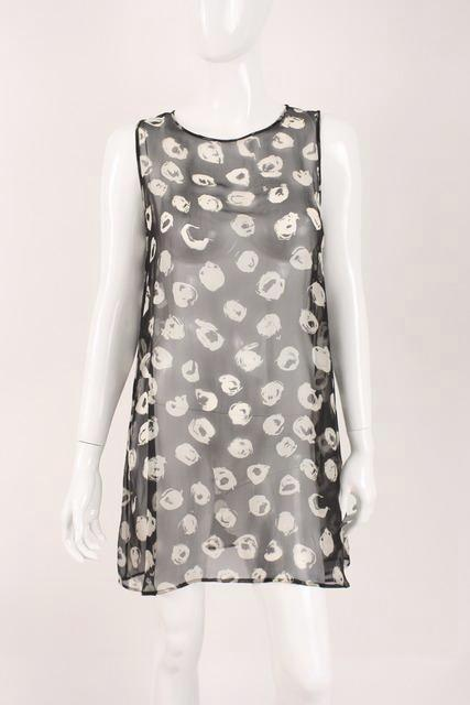 Chanel chiffon dress tunic