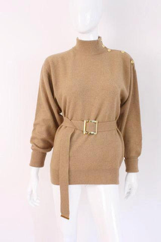 Vintage CHANEL Camelhair Sweater