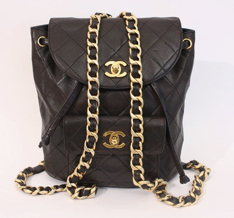 Iconic Vintage CHANEL Backpack