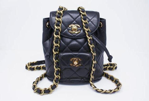 Rare Vintage CHANEL Mini Iconic Backpack