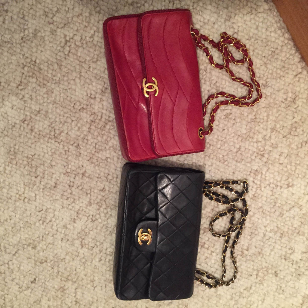 3 Vintage Chanel Flap Bags