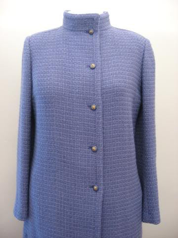 Vintage 70's CHANEL Lavender Wool Jacket with Lion Head Buttons