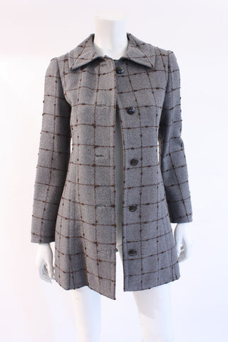 Vintage 70's PERTEGAZ Tweed Jacket