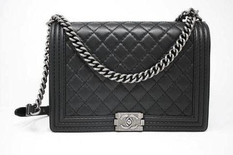 New CHANEL Large Boy Bag