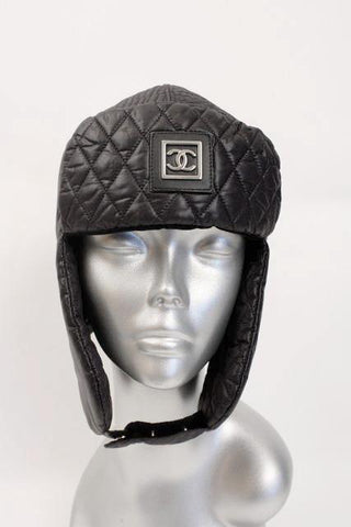 Rare CHANEL Neige Winter Trapper Hat