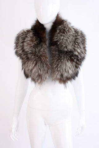 Vintage Fox Fur Collar Scarf