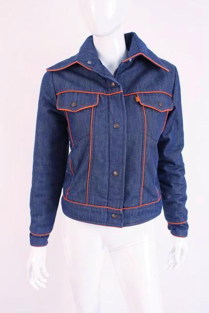 Vintage 70's Levis Orange Label Denim Jacket
