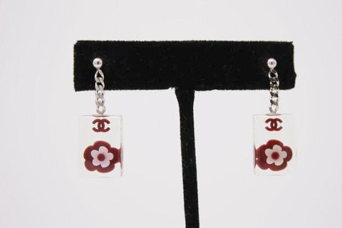 Vintage CHANEL Cherry Blossom Earrings