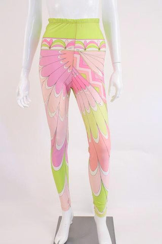 Vintage Early 90's EMILIO PUCCI Leggings