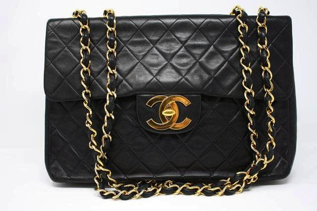 Vintage Chanel Maxi Jumbo Flap Bag
