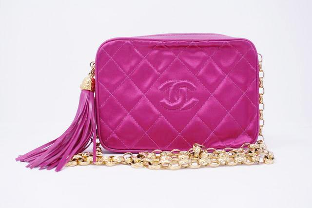Vintage Chanel Hot Pink Bag