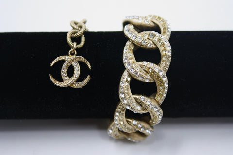 Rare CHANEL 2015 Cruise Chain Link Bracelet