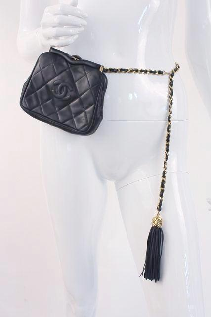 Vintage Chanel Waist Belt Fanny Bag Pack