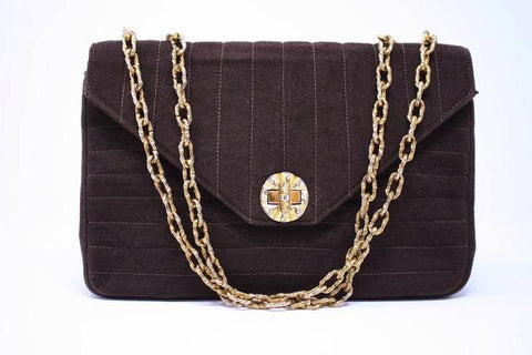 One of a Kind Vintage 50's CHANEL Prototype Flap Bag  ON LAYAWAY
