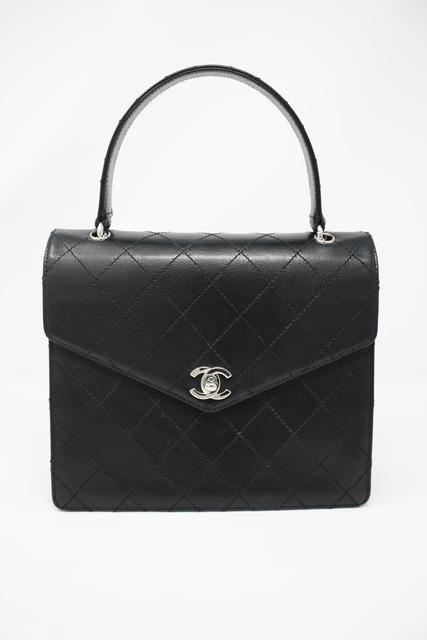 Vintage Chanel Caviar Kelly Bag
