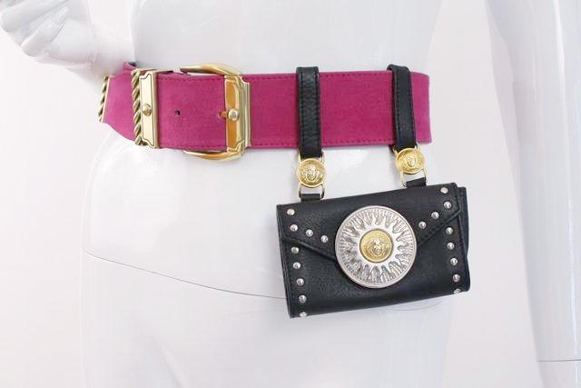 Vintage Gianni Versace Belt Waist Bag