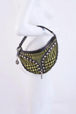 VERSACE Houndstooth Bag