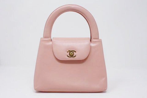 Vintage CHANEL Pink Top Handle Bag ON LAYAWAY