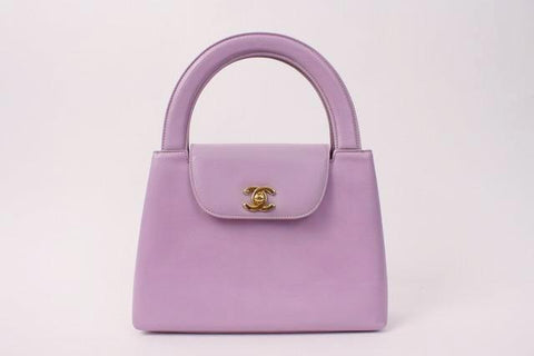 Vintage 90's CHANEL Lavender Top Handle  ON LAYAWAY