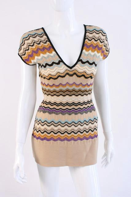 Missoni Signature Tunic Top