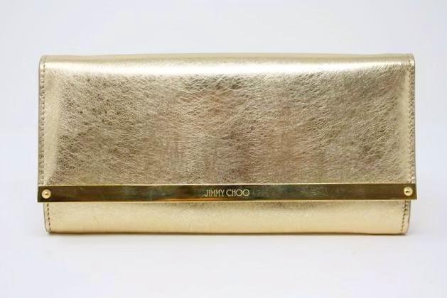 Jimmy Choo Clutch Gold