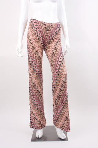 MISSONI Orange Label Iconic Pants