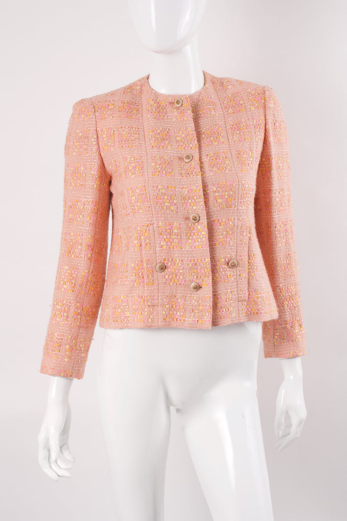 Rare Vintage 70's CHANEL Tweed Jacket