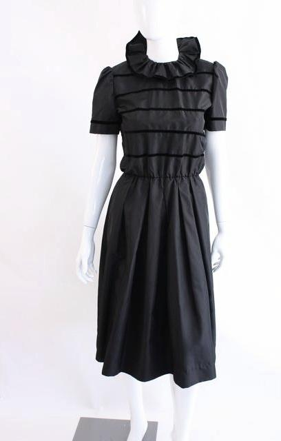 Vintage Nipon Ruffle Dress