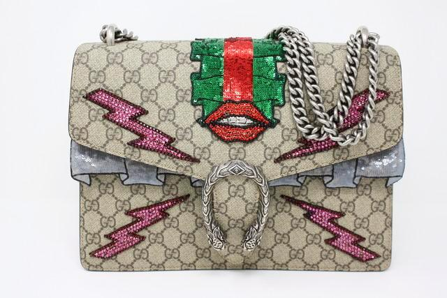 Rare GUCCI S/S 2016 Medium Dionysus Bag