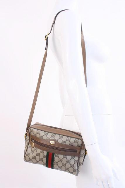 11ca9f108331ca Vintage GUCCI Ophidia GG Supreme Bag at Rice and Beans Vintage