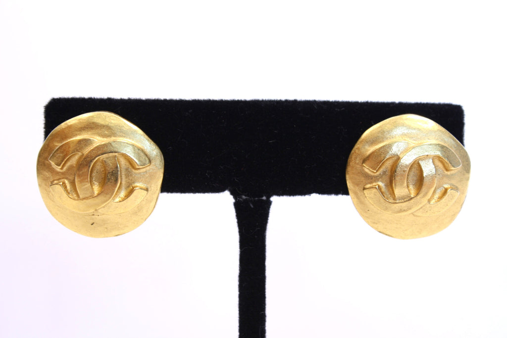 Vintage Chanel Gold Earrings