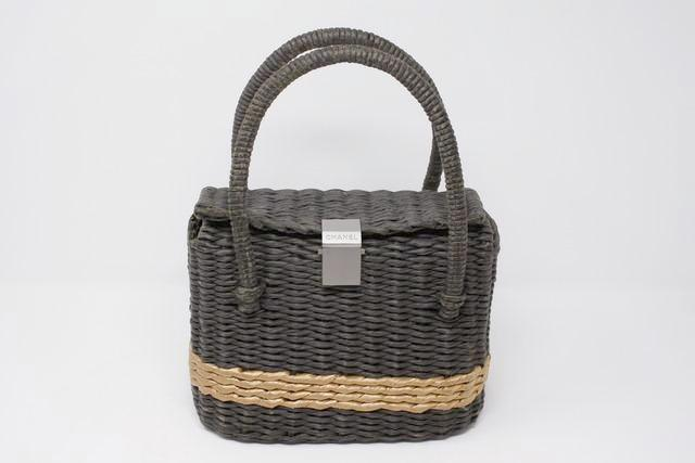 Rare Vintage CHANEL Basket Bag
