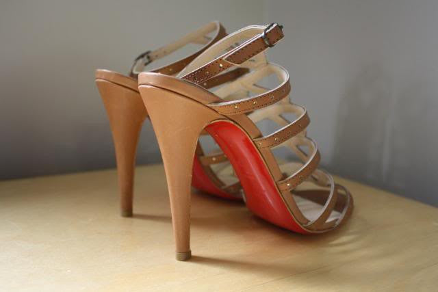 the latest 503ab 4bde0 Louboutin Gladiator Heels