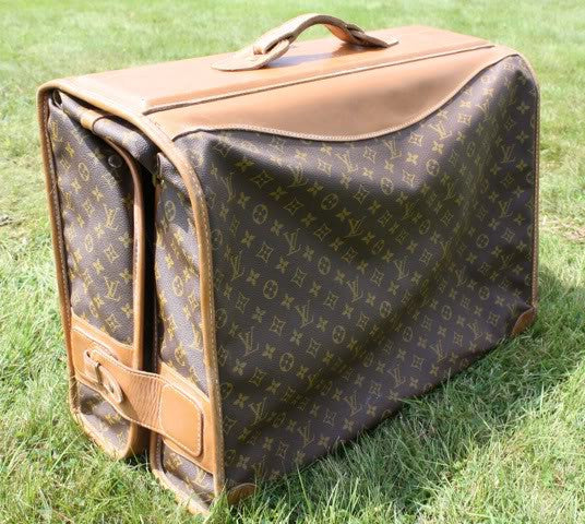 Louis Vuitton Three Garment Hanging Bag and Suitcase