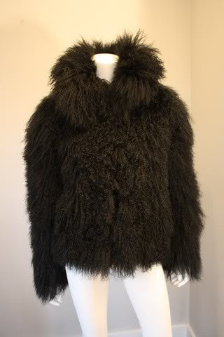 Mongolian Lamb Fur Jacket