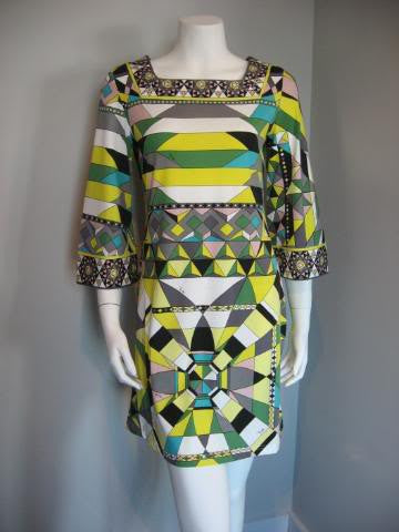 Pucci Geometric Mini Dress