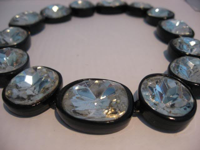 Rare 1960s Kenneth Lane Headlight Necklace