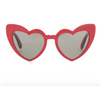 Vintage heart shaped sunglasses