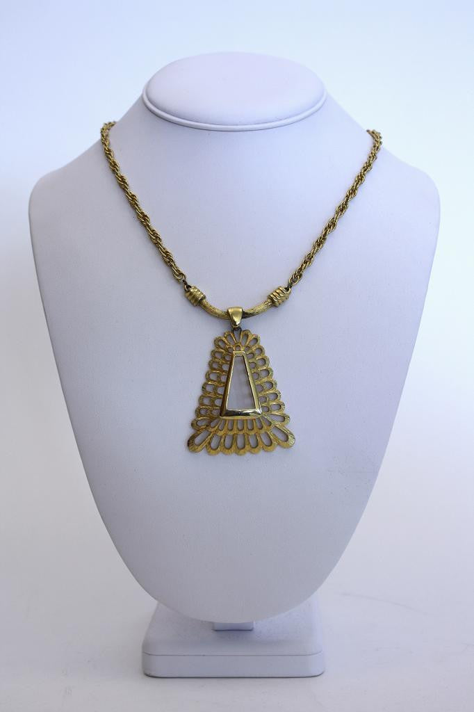 Vintage 70's Geometric Necklace