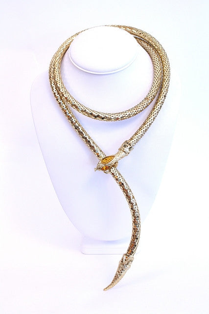 Vintage Whiting & Davis Gold Belt or Necklace