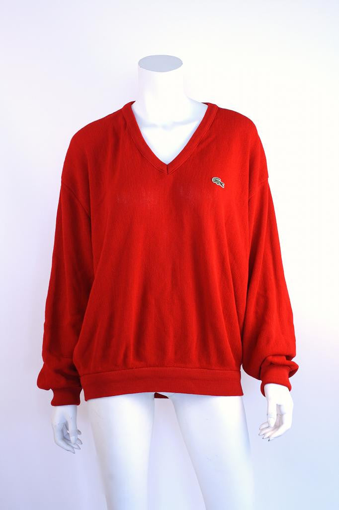 Vintage LACOSTE Alligator Sweater