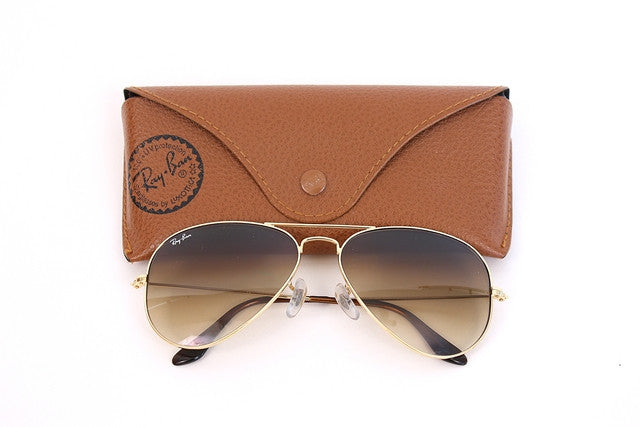 Vintage Gold Ray-ban Aviator Sunglasses