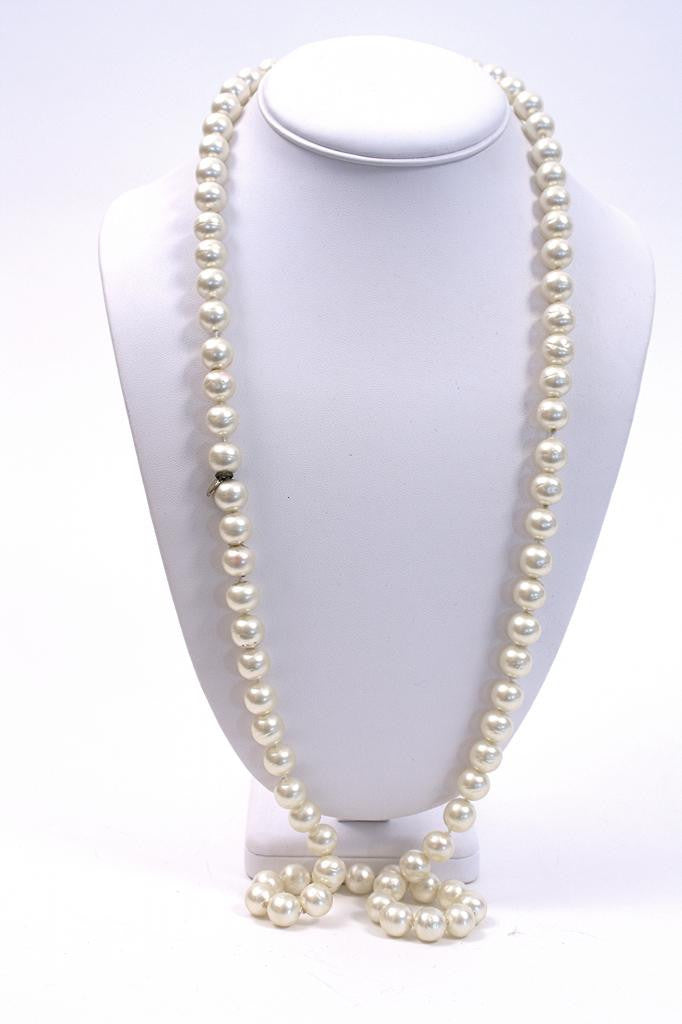 Vintage 1981 Chanel Pearl Necklace