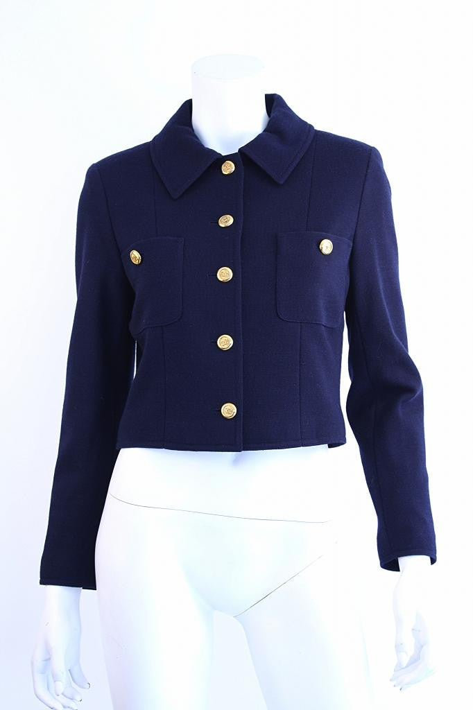Vintage Chanel Cropped Jacket