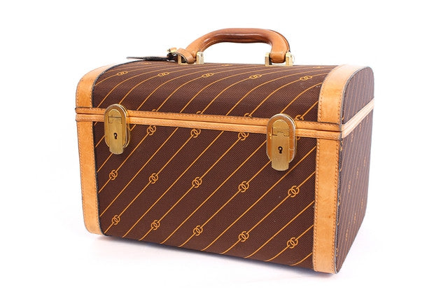 3dad17a7a34 Vintage 70 s GUCCI Train Case at Rice and Beans Vintage