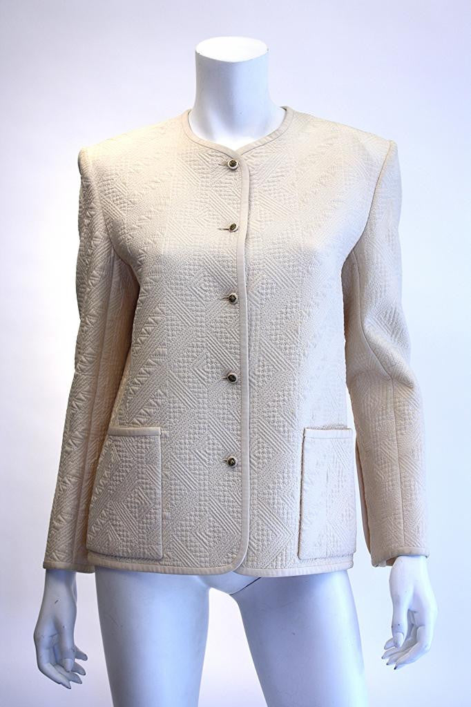 Vintage 70's CHANEL Quilted Jacket
