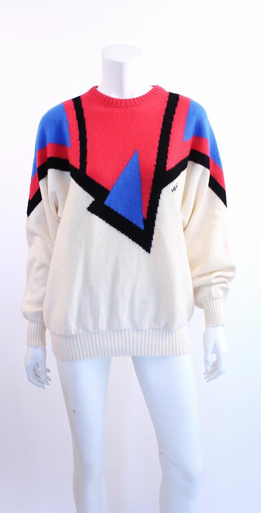 Vintage 80's HEAD Wool Ski Sweater