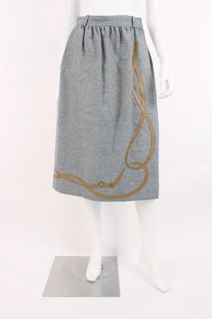 Vintage Gucci Equestrian Skirt