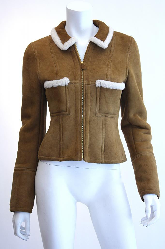CHANEL Shearling Jacket