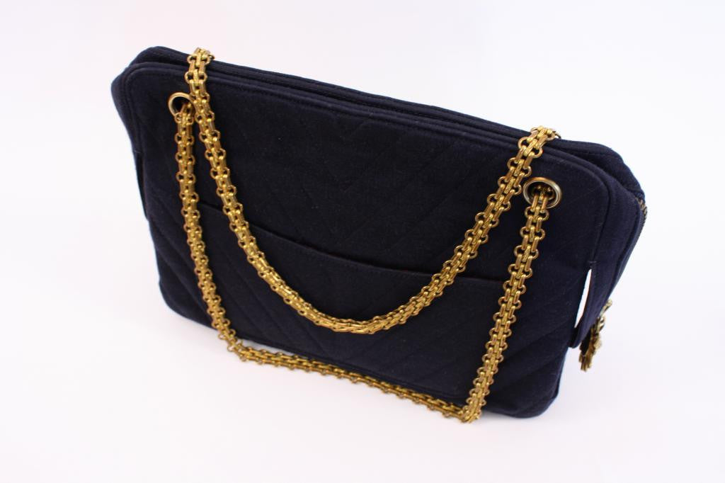 3bfb2dcab0c563 Rare 60's 70's Vintage Chanel Mademoiselle Bag